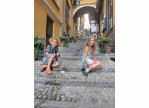 kids in Bellagio