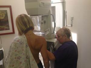 Getting a Mammogram